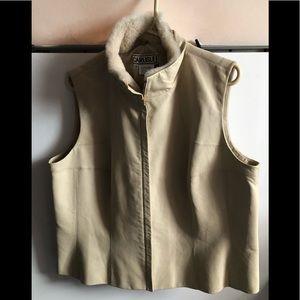 Carlisle 100% Leather Vest